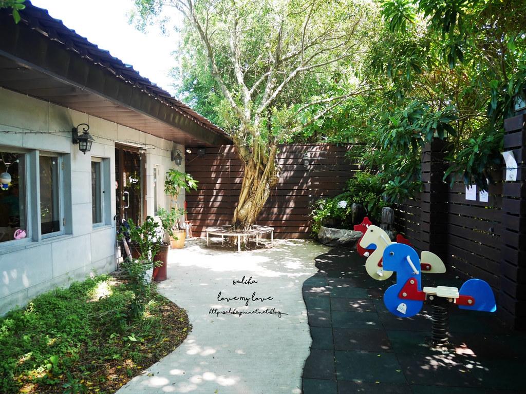 新北八里TO House兔子庭園親子餐廳素食咖啡廳下午茶 (1)