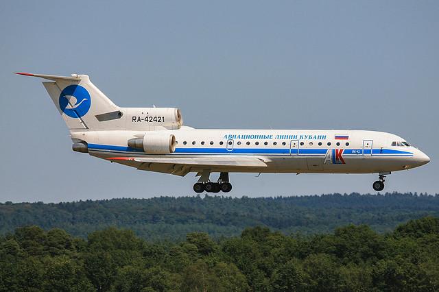 RA-42421, Yakovlev Yak-42D Kuban Air @ Köln-Bonn CGN EDDK
