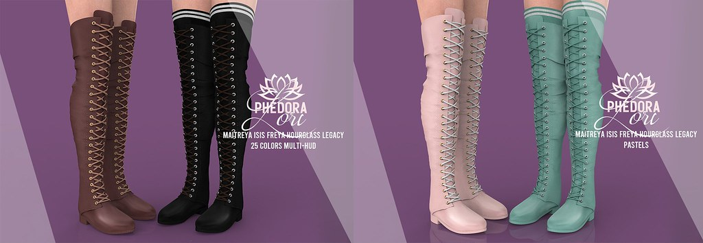 "Phedora. for Belle. Events - ""Lori"" Boots ♥"