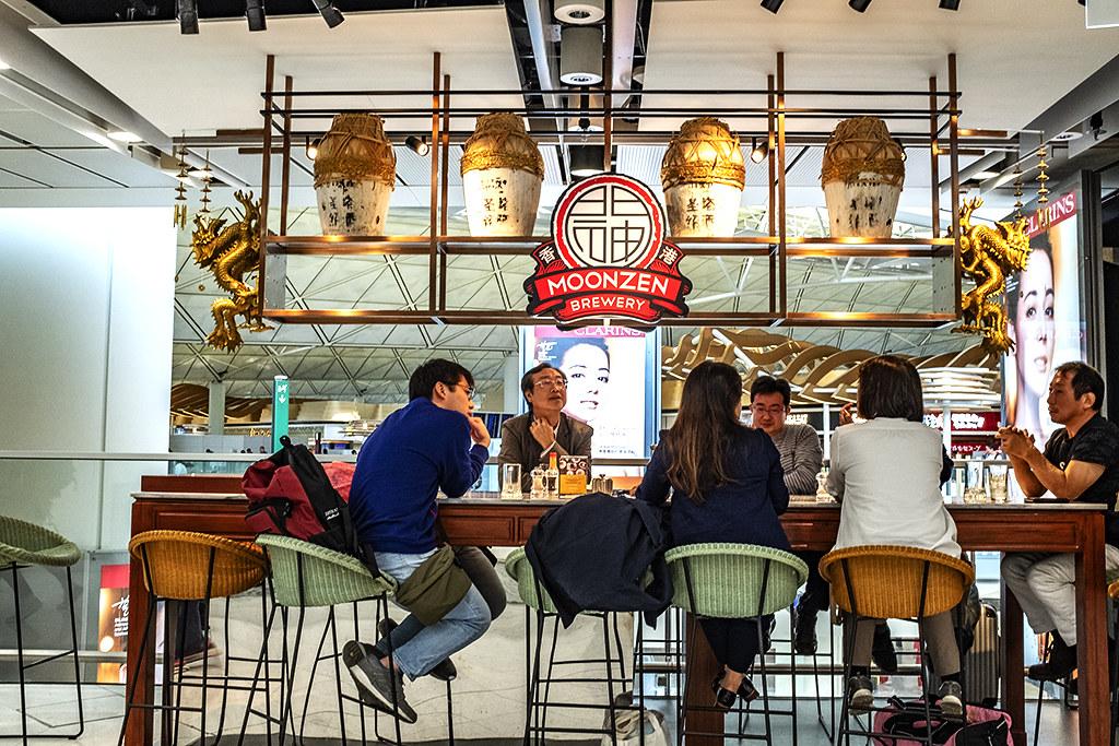 MOONZEN airport bar--Hong Kong