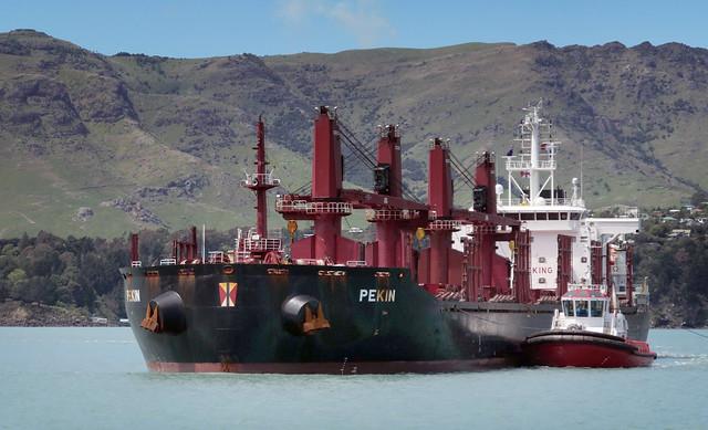 PEKIN Bulk Carrier.
