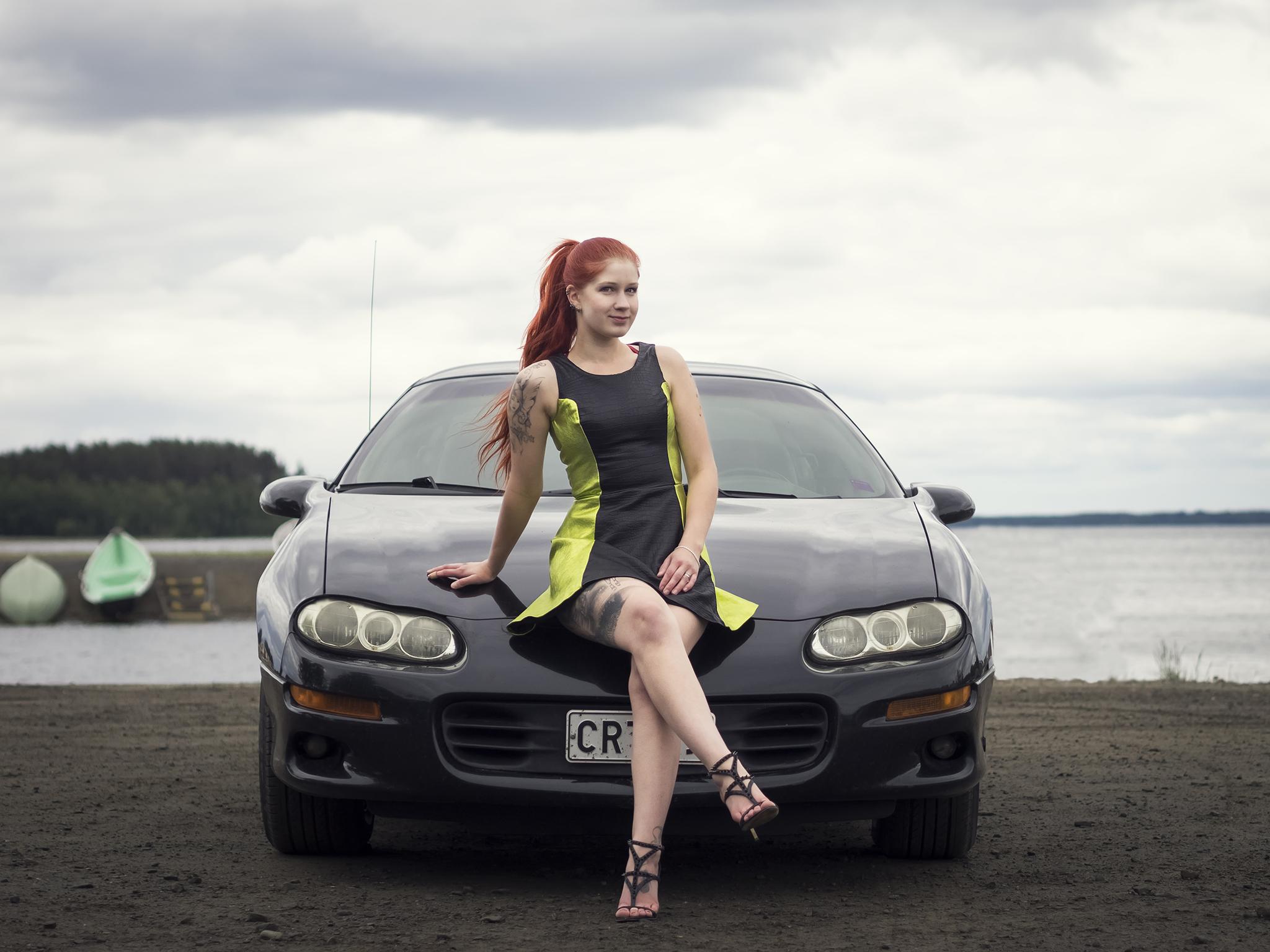 Chevrolet-Camaro-ja-nahkamekossa