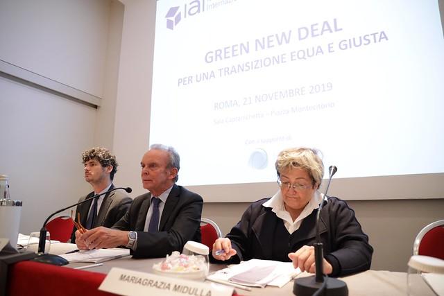 Green New Deal per una transizione equa e giusta