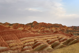 Color Rock Formation