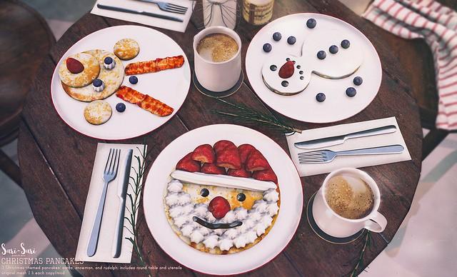 Sari-Sari - Christmas Pancakes