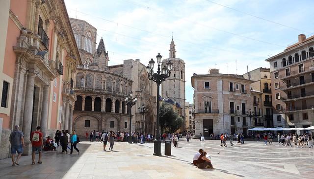 Plaça de la Mare de Déu / Valencia