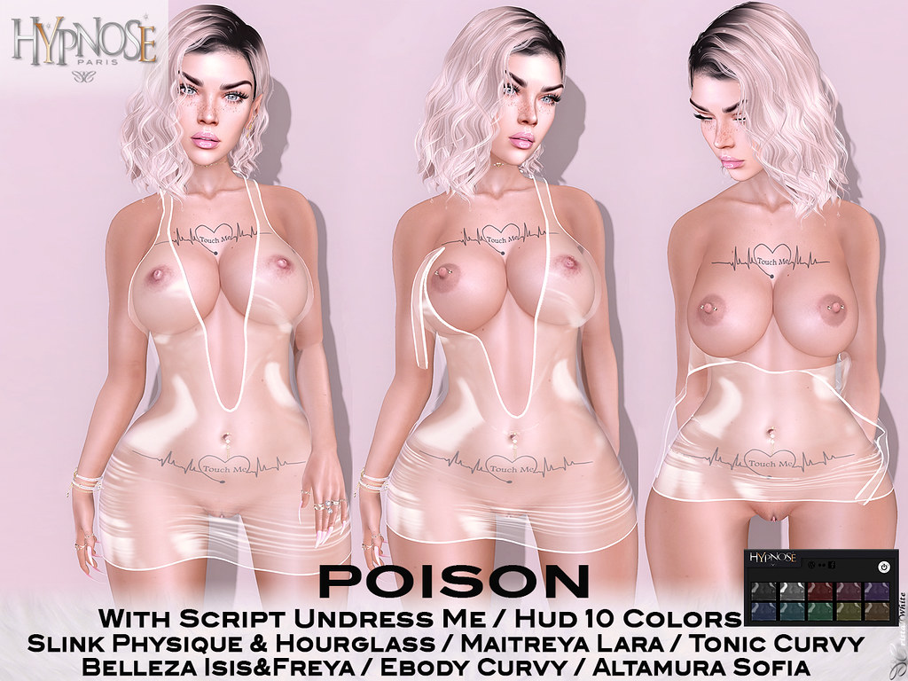 "HYPNOSE – POISON ""UNDRESS ME"""