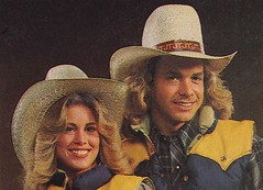 1980 Marty Smith with JT Racing's Sidewinder hat