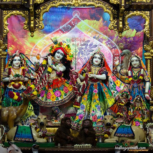 ISKCON Chowpatty Deity Darshan 22 Nov 2019