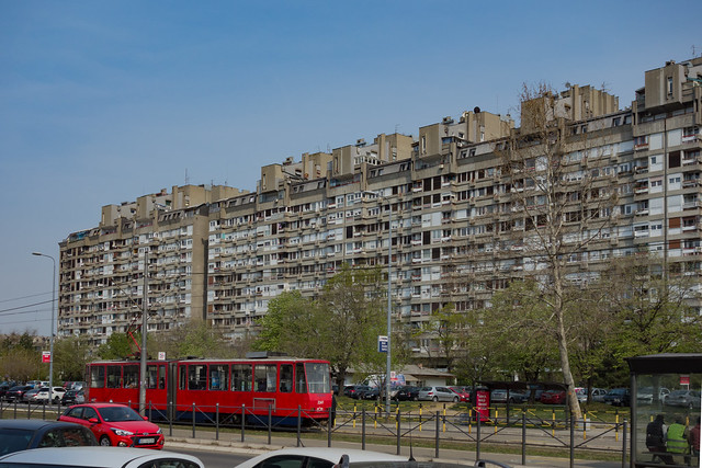 Beograd - Bulevar Milutina Milankovića, Novi Beograd