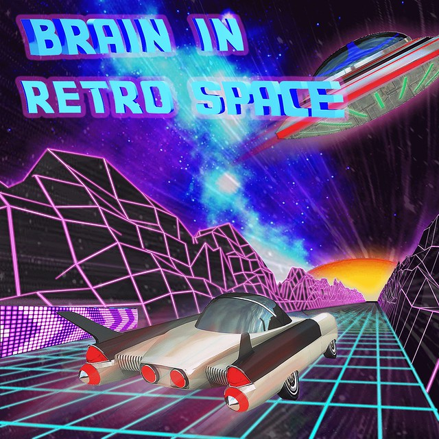 Brain in Retro Space with VS Mode