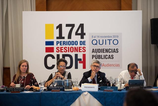 174 Periodo de Sesiones - Quito - 12-11-19