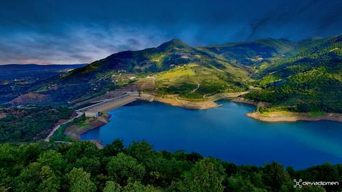 aerial aerialphoto dam drone dronephoto izmit kocaeli landscapephotographer mountain naturephotographer sunset türkiye yuvacıkbarajı