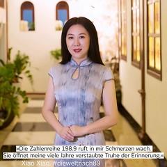 """""""Leben heißt Zahlen auftürmen wie 1949,19.8.9, 2019… Wie werden wir morgen die nächste Zahlenreihe anvisieren?"""" Xiao Xiao stammt aus der Provinz Sichuan und lebt als Lyrikerin, Malerin und Publizistin in Peking. Sie zählt zu den wenigen mutigen, selbstbes"""