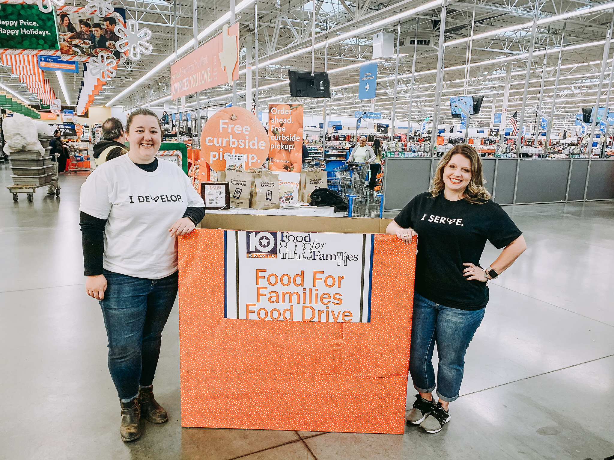 GKYP Food for Families Food Drive 2019