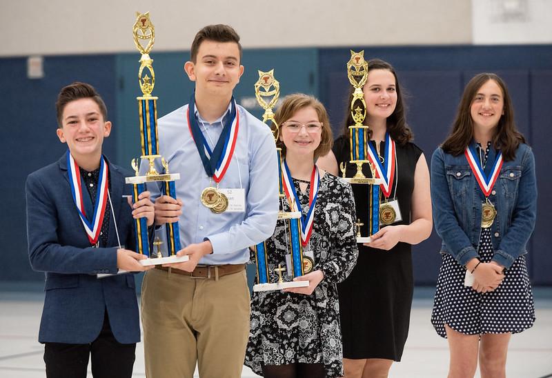 Speech Contest 2019 - Diocese of Sacramento Catholic Schools