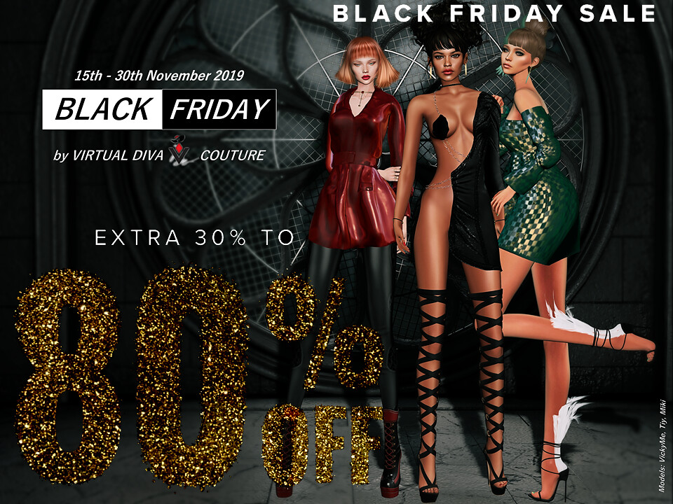 VIRTUAL DIVA X Black Friday 80% off!!