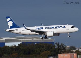 F-WWDD Airbus A320 Neo Air Corsica