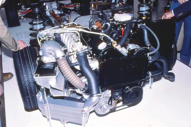 Audi Quatro turbo 5cyl  Geneva  Auto Salon 1980