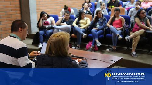 Pares del CNA visitaron UNIMINUTO Sede Bello para evaluar programas de la FCHS