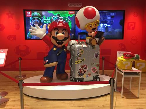 Nintendo check in