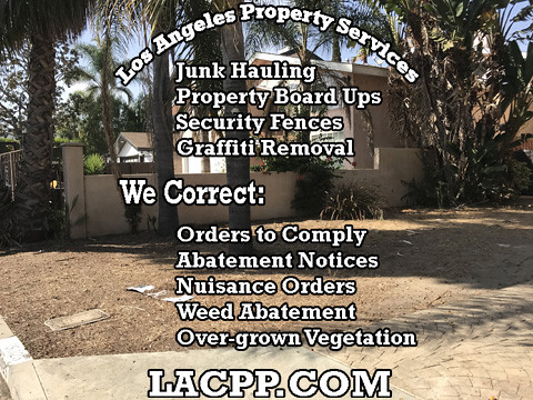 abatement property fence