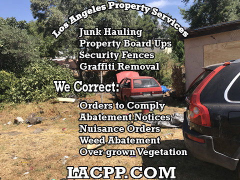 abatement property chain link fence installation