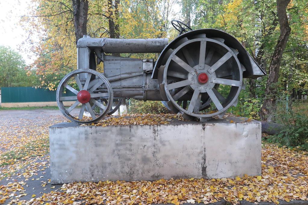 Фордзон-Путиловец в Яранске Кировской области Кировская область,трактора