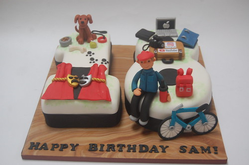 Fine Sams 18Th Cake Beautiful Birthday Cakes Funny Birthday Cards Online Overcheapnameinfo