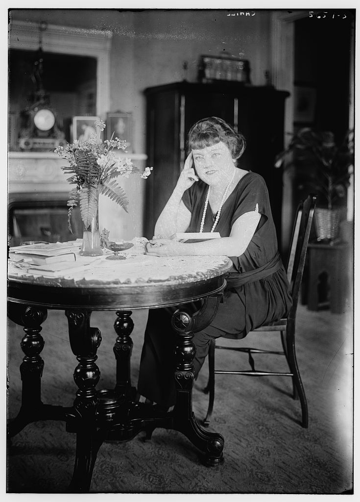 Cahill [seated at a table] (LOC)