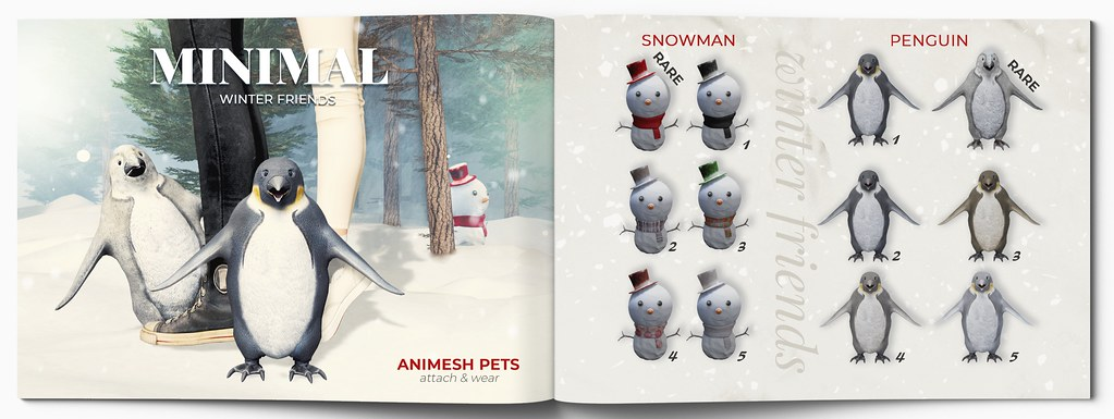 MINIMAL – Winter Friends Gacha Animesh