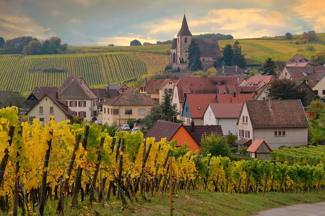 Hunawihr (Alsace, F)