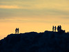 silhouettes on the hill by athanecon