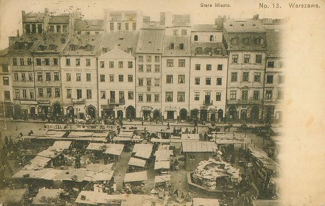 Rynek_Starego_Miasta_w_Warszawie_przed_1914 (Wikipedia)