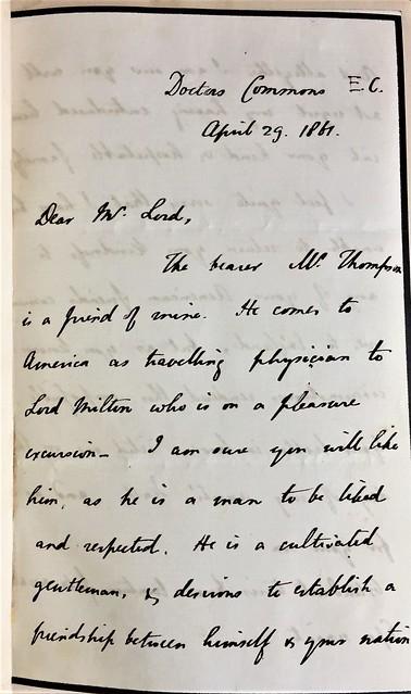 sir godfrey letter