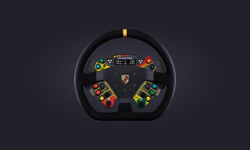 Fanatec Porsche911 GT3 R Steering Wheel