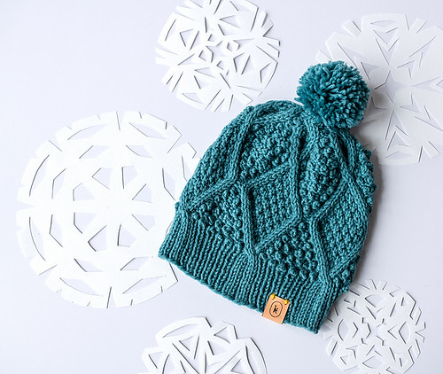 The January Hat by Courtney Kelley for Kelbourne Woolens Year of Hats