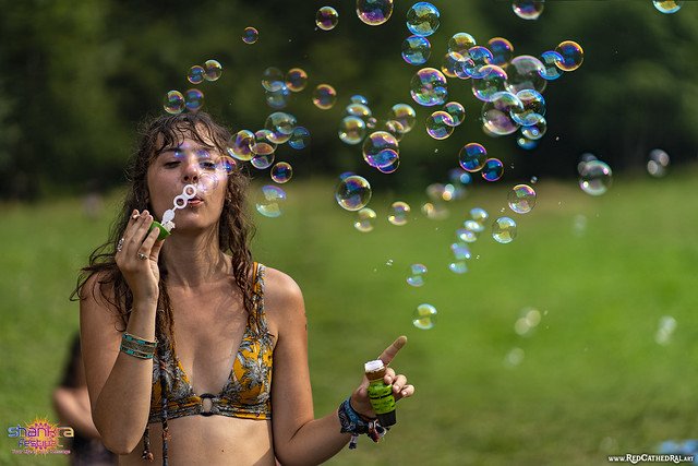 Never stop blowing bubbles