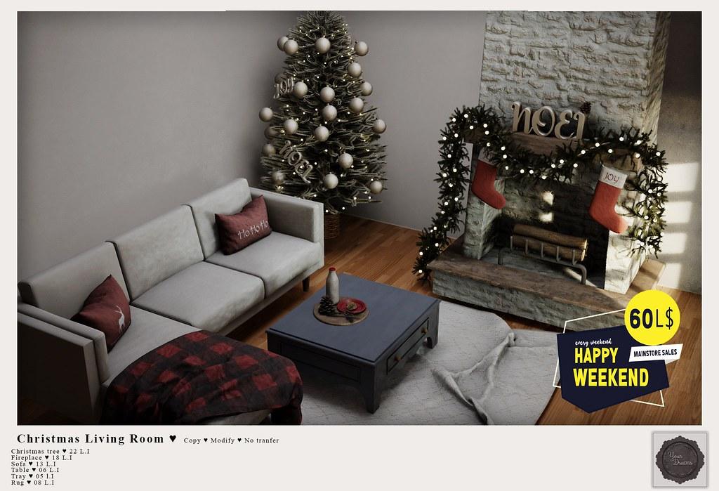 {YD} Christmas Living Room ♥