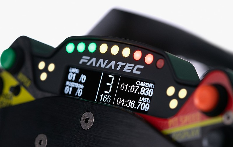 Fanatec Porsche 911 GT3 R Display
