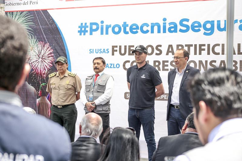 Sucamec lanza la campaña #PirotecniaSegura2019