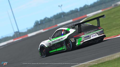 rF2 Porsche 991 GT3 Cup
