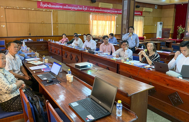 Lao PDR Early Warning Systems program kick off
