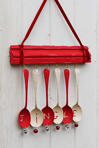 christmas wind chime ornament