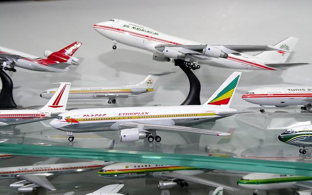 Ethiopian Airlines Boeing 767-200 ET-AIF (Aeroclassics)