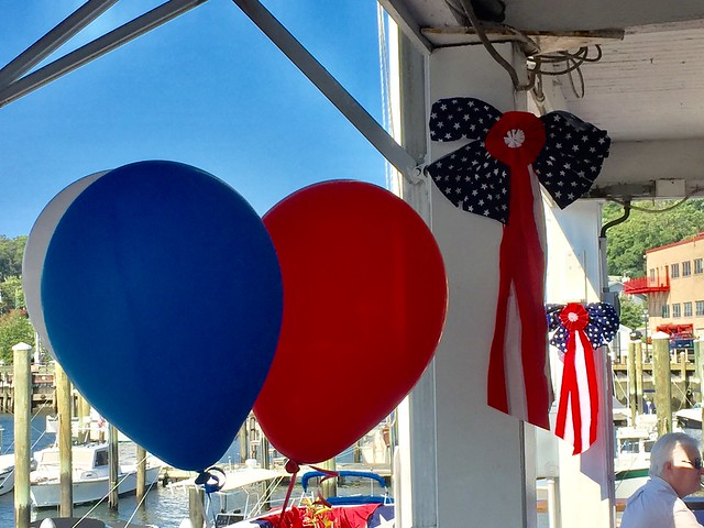 Party decorations red white and blue IMG_1828 - JU