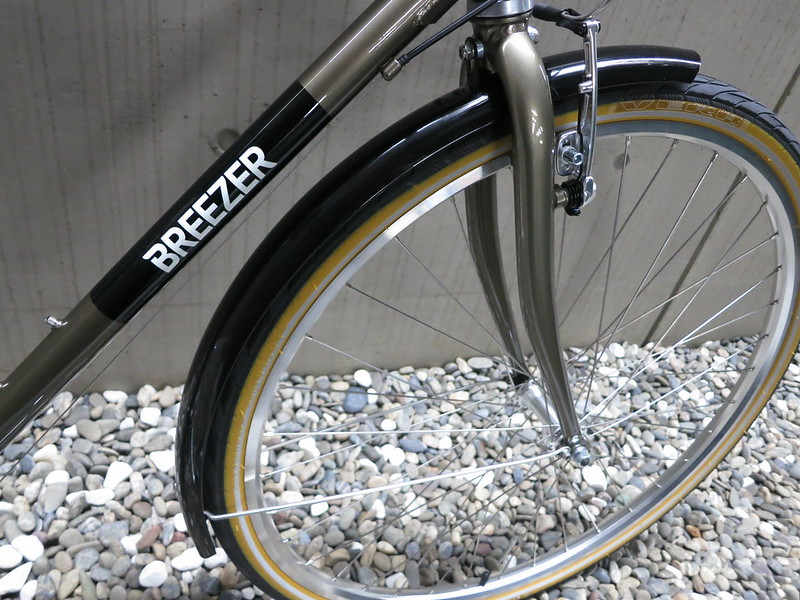BREEZER Downtown EX D Gold Fender