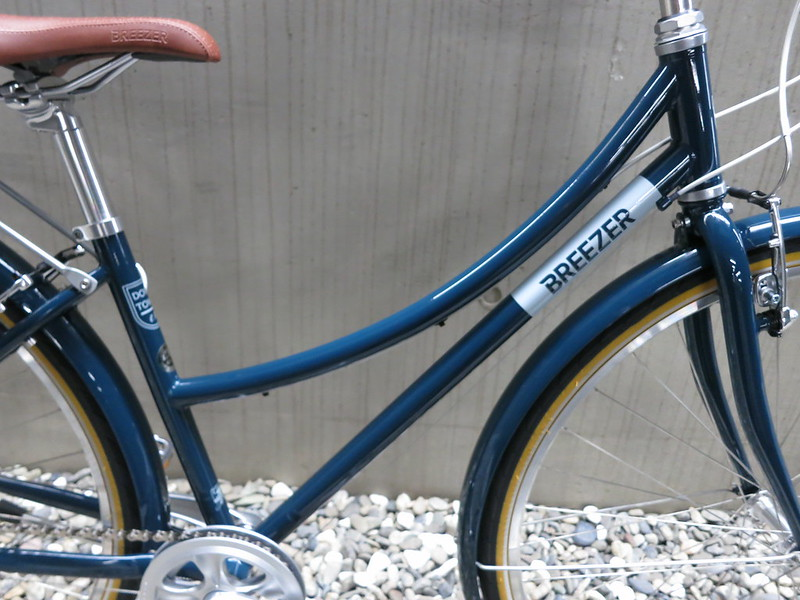 BREEZER Downtown EX ST Blue Frame