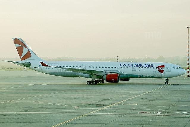 OK-YBA | Czech Airlines (CSA) | Airbus A330-323 | CN 425 | Built 2001 | PRG/LKPR 24/10/2019 | ex HL7701