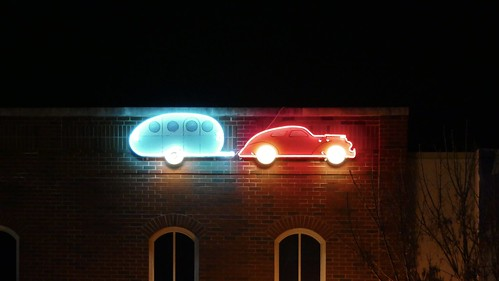 Neon and night in Bentonville